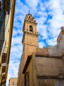 Valencia San Esteban Protomartir church belfry Spain — Stock Photo