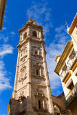 Valencia Santa Catalina church belfry tower Spain — Stock Photo