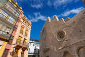 Valencia Santa Catalina church plaza Lope de Vega Spain — Stock Photo