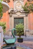 Iglesia de valencia santo tomás en la plaza san vicente ferrer españa — Foto de Stock