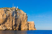 Cabo de San Antonio cape in Javea Denia at Spain — Stock Photo