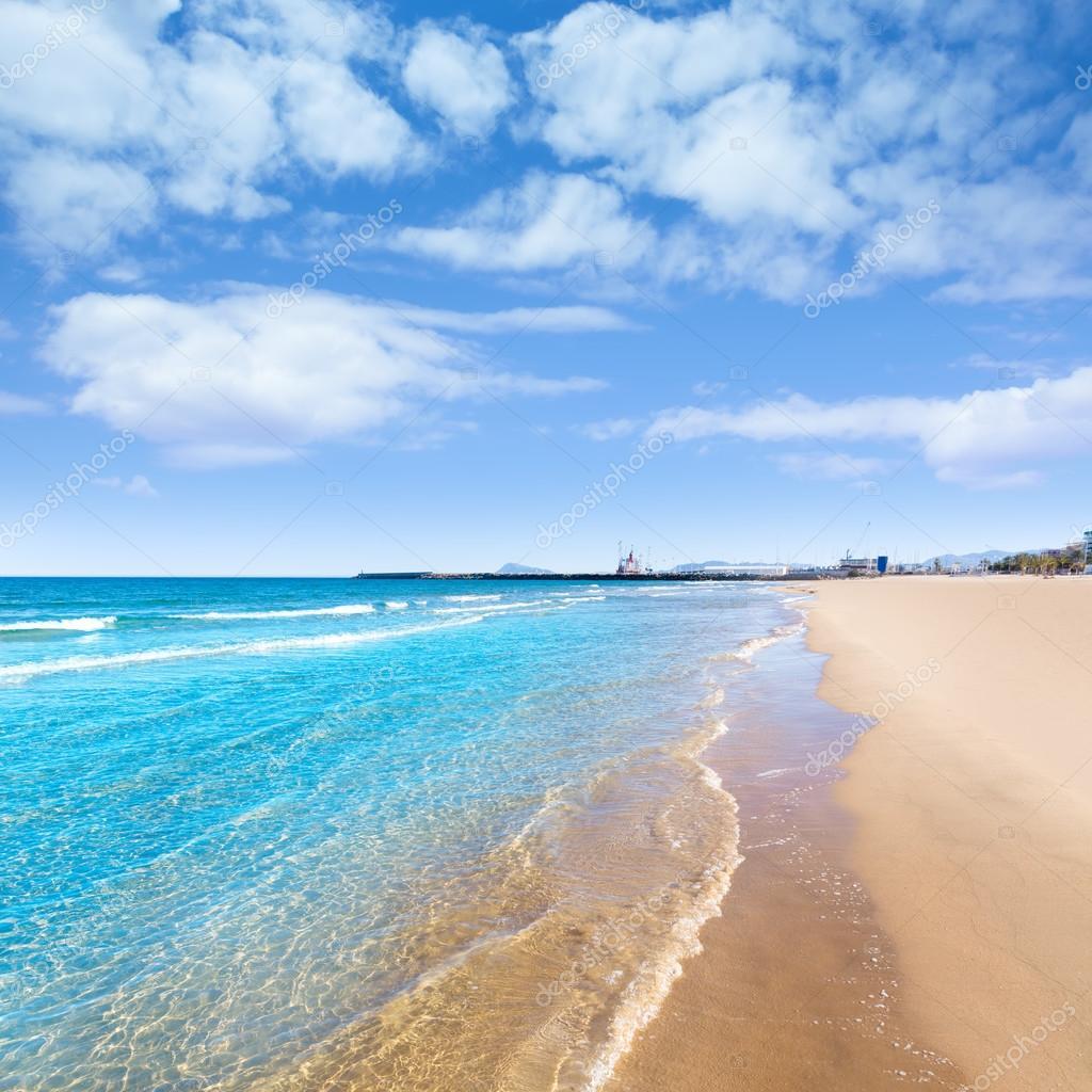 Spiaggia di gandia in spagna mediterranea di valencia foto stock lunamarina 44038995 - Office du tourisme valencia ...