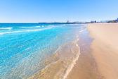 Gandia beach in Valencia Mediterranean Spain — Stock Photo