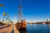 地中海のスペインのガンディア ポート プエルト バレンシア — ストック写真