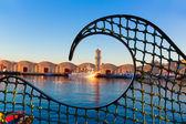 Gandia port puerto Valencia in Mediterranean Spain — Stock Photo