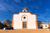Javea Ermita del Calvario at Xabia Alicante in Spain — Stock Photo