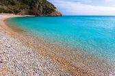 Javea La Granadella beach in Xabia Alicante Spain — Stock Photo