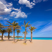 Javea Xabia playa del Arenal in Mediterranean Spain — Stock Photo
