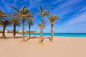 Javea Xabia playa del Arenal in Mediterranean Spain — Stock Photo