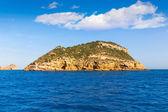 Javea Portichol Xabia Portixol island in Alicante Spain — Stock Photo