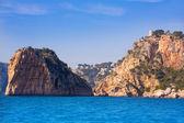 Javea isla del descubridor torre granadella alicante — Zdjęcie stockowe