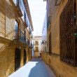 Javea Xabia old town streets in Alicante Spain — Stock Photo