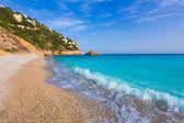 Javea Playa Ambolo beach Xabia in Alicante — Stock Photo