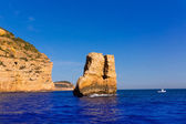 Javea Xabia Piedra la Nao in Mediterranean Spain — Stock Photo