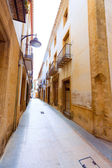Javea Xabia old town streets in Alicante Spain — ストック写真