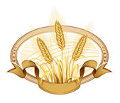 Wheat ears. — Stock Vector