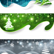 Christmas banners — Stock Vector #14243039