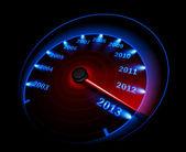 Hız göstergesi 2013. vektör çizim — Stok Vektör