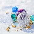 Christmas colored balls — Stock Photo #14548899