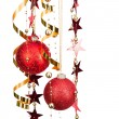 Royalty-Free Stock Photo: Christmas balls and decorations