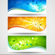 Spring banners — Stock Vector #21656955