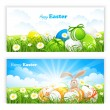 Easter banners — Stock Vector #22784290
