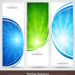 Royalty-Free Stock Vector Image: Spring banners
