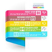 Креативный дизайн шаблона — Cтоковый вектор