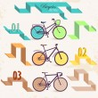 Retro bicycles — Stock Vector #29247717