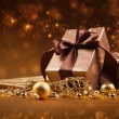 Christmas gifts and decorations — Stock Photo #31855093