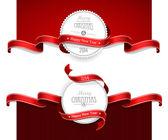 Christmas emblems — Stock Vector
