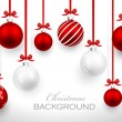 Christmas balls  — Stockvectorbeeld