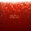 Christmas red background — Vector de stock #35497213