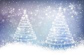 Magic christmas background — Stockvektor