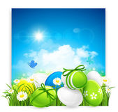 Easter banner — Stock Vector