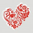 Ornate heart - Stock Vector