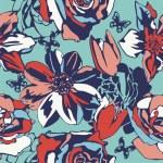 Floral vector texture — Stock Vector #18590067
