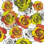 Floral vector texture — Stock Vector #18590693