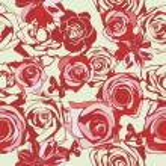 Floral vector texture — Stock Vector #18590703