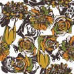 Floral vector texture — Stock Vector #18591223