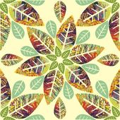 Floral seamless texture — Stock Vector