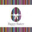 Postcard on Easter — Stock Vector