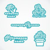 Set of logos — Stock Vector