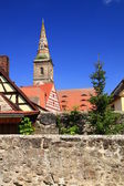 Parish Church of the Assumption of Mary, Wolframs-Eschenbach, Germany — Stock Photo