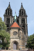 The cathedral of Meissen — Stock Photo