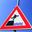 Royalty-Free Stock Photo: Risk of falling into the water