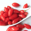 Goji berries (Lycium barbarum) - Stock Photo