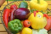 средиземноморские овощи — Стоковое фото