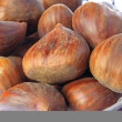 Sweet chestnuts (Castanea sativa) — Stockfoto