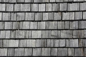 Wooden shingles — Stock Photo